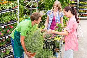 Garden centre marketing - customer service is key