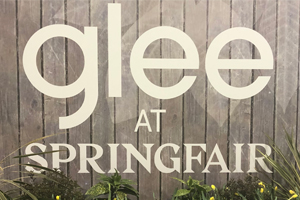 Glee at Spring Fair logo