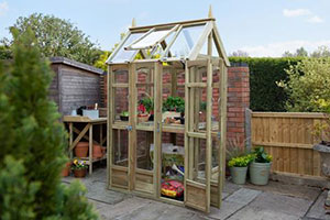 Victorian Walkaround Greenhouse by Forest Garden