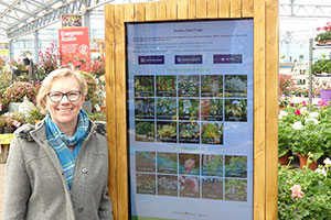 Terri Jones reaching a new generation of screen-fingered gardeners