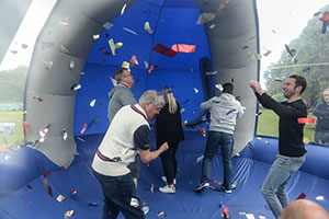 The Crystal Maze challenge at GIMA Charity Day