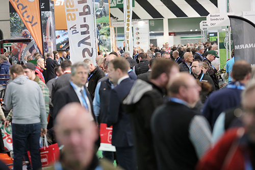 The crowd at SALTEX Event