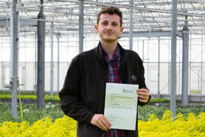 Kyle Ross from Wyevale Nursies joins Plant Health Professional Register