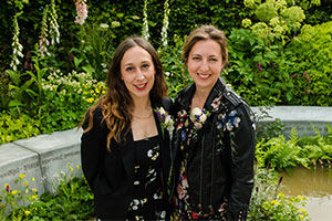 Kate & Tamara - garden design advice