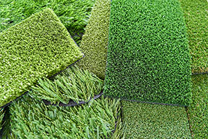 artificial grass samples