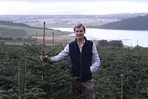 Christmas tree grower Charlie Hood