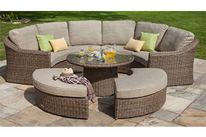 outdoor living dining set