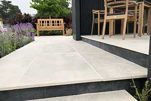Bradstone have featured in a Silver Gilt medal-winning show garden
