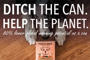 Pooch & Mutt wet food cartons