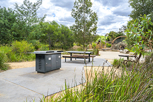 Christie barbecues electric public barbecue installed for Melbourne City Council 2019