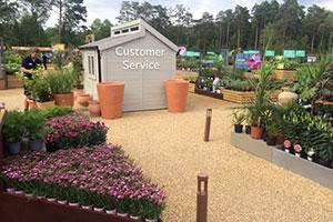 The Posh Shed Company Garden Centre Customer Service Shed